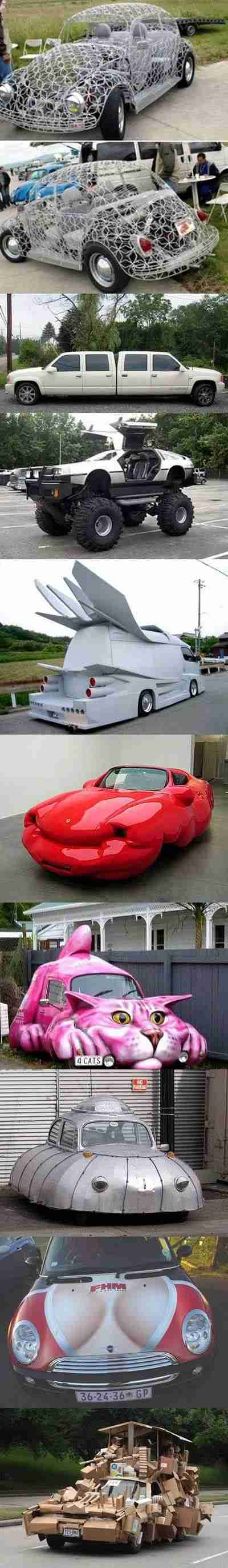 carros esquisitos