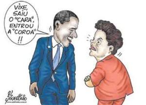 """Vice de Obama veio fazer uma """"little"""" visita aqui no Brasil — E não foi para ver nossas praias…"""