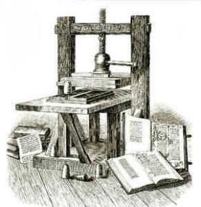 Prensa de Gutenberg